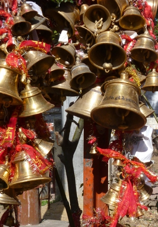 Bell temple, Chitai, Uttarakhand, India, 2012