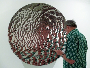 Untitled 2012, stainless steel, Anish Kapoor