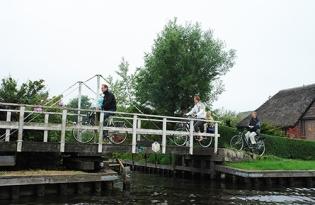 Holland waterland, Holland fietsland