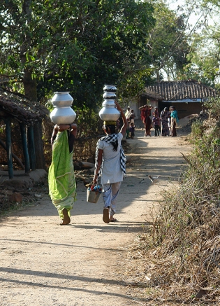 Sanpuri village, Dindori, Madhya Pradesh, India 2014