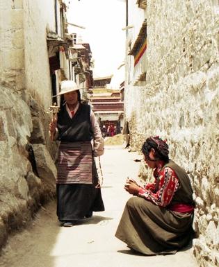 Barkhor, Lhasa, Tibet 1996