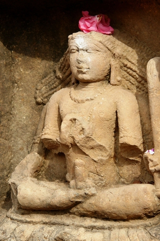 Ithyphallic Shiva, Kalinjar Fort, Uttar Pradesh, India 2009