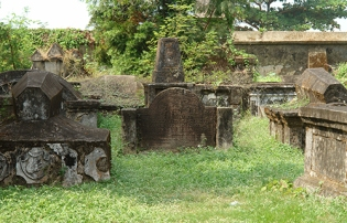 Dutch cemetery, Fort Kochi, Kerala, India 2014