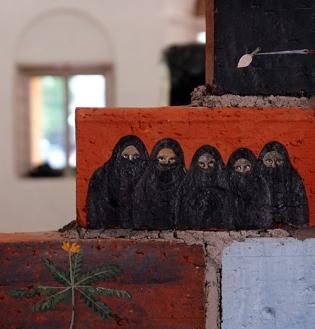 DSC00407 Kochi Biennale 2014- Unnikrishnan C
