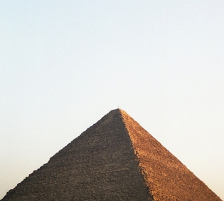 Egypt- Great Pyramid of Giza- Jan. 2001